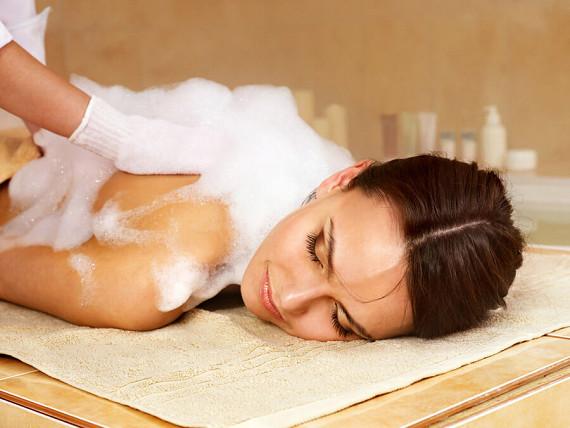 Пенный пилинг- массаж