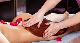 Шоколадный антицеллюлитный массаж